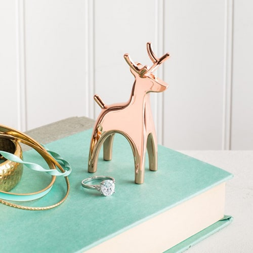Copper Animal Ring Holders