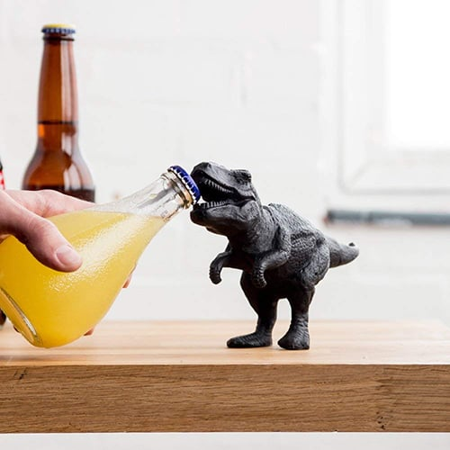Dinosaur Bottle Opener - Gifts for Men Under $30