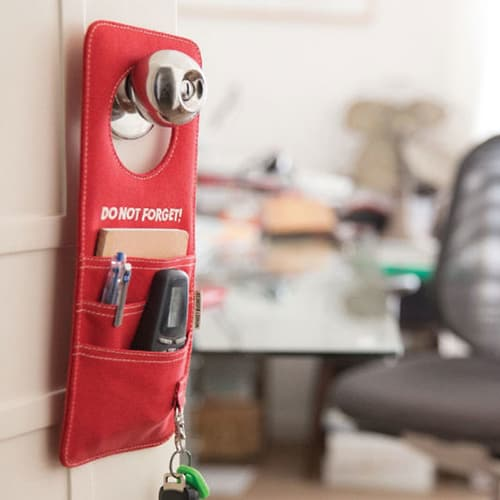 Do Not Forget Door Knob Organizer - Convenient Things To Have