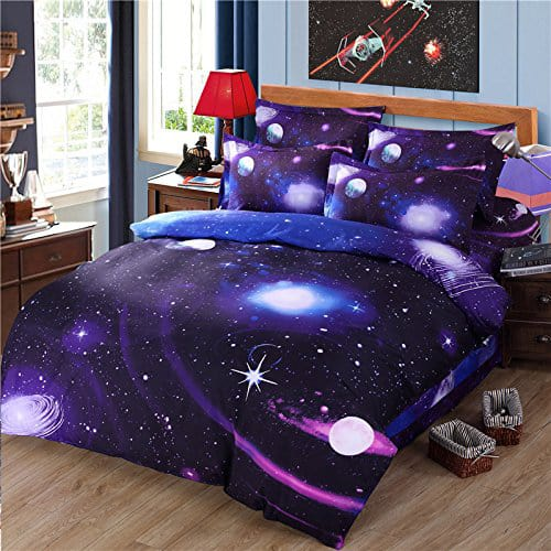 Galaxy Bed Sheet Set