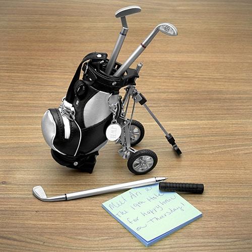 Golf Pens with Golf Bag Holder - Cool Gadgets for Men