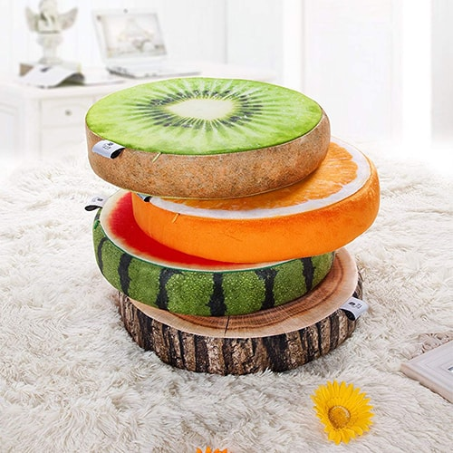 Kiwi Pillow -Cool Things for Bedroom