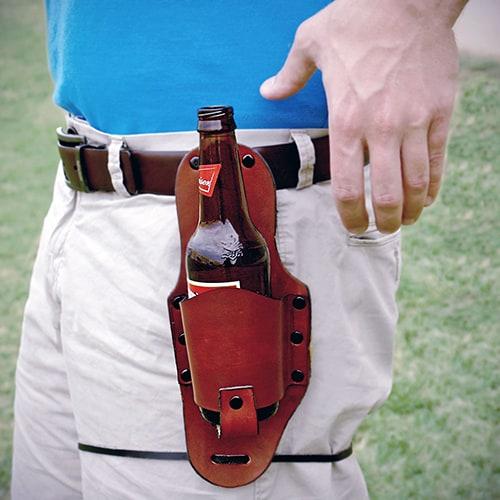 Leather Bottle Holster