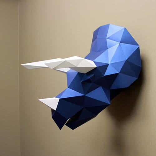 Paper Taxidermy Kit - Cool Things to Hang in Your Room