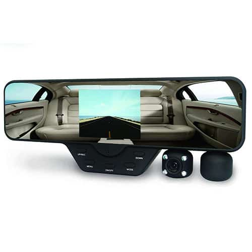 Rearview Mirror w/ Dash Cam