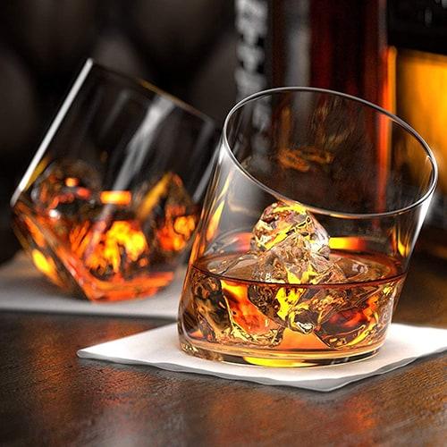 Rocker Whiskey Glasses - Gifts for Men Under $25