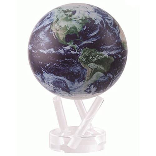 Spinning Satellite View Globe