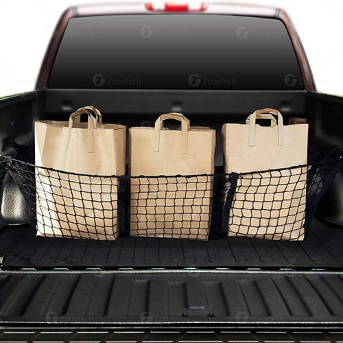 Three Pocket Mesh Storage Net
