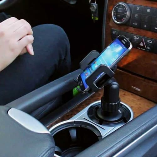 Cup Holder Car Mount for Your Phone – Cool Car Accessories & Gadgets