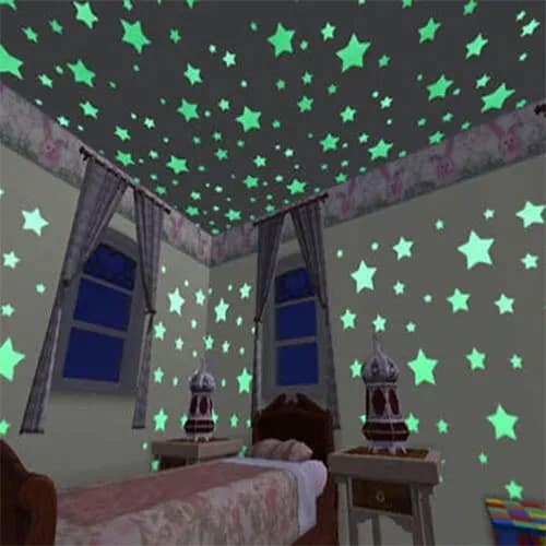 100Pcs Glow In The Dark Stars