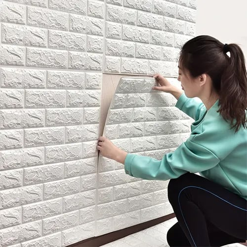 3D Brick Wall Stricker