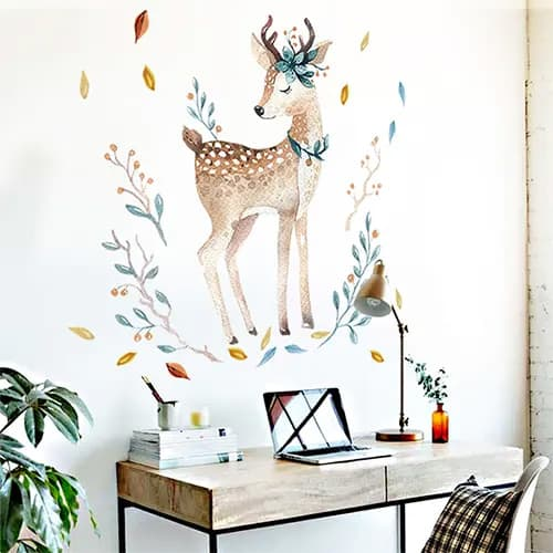 Adorable Animal Wall Stickers