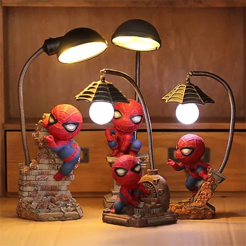 Adorable Spiderman Night Lamp - Cool Things To Buy For Your Room