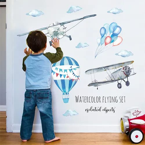 Aviaton Wall Sticker Set