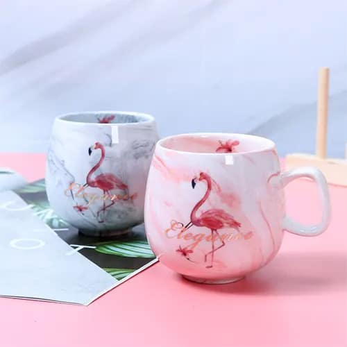 Cute Flamingo Mugs