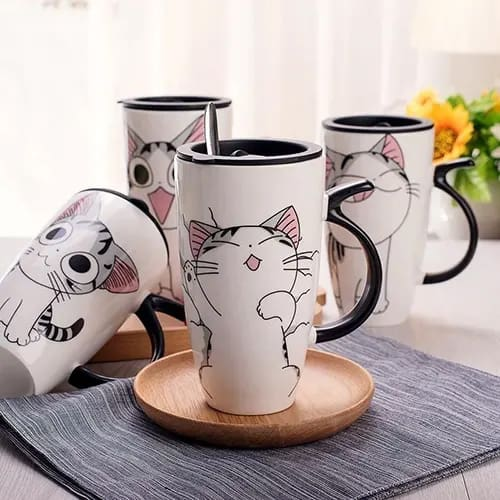 Cute Cat Coffee Mugs