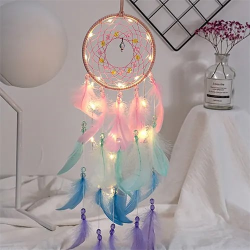 Dream Catcher With Lights - Birthday Gifts For Bedroom