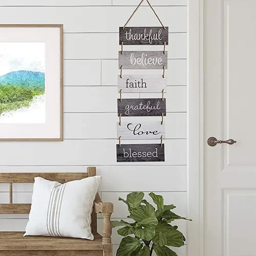 Hanging Wall Sign