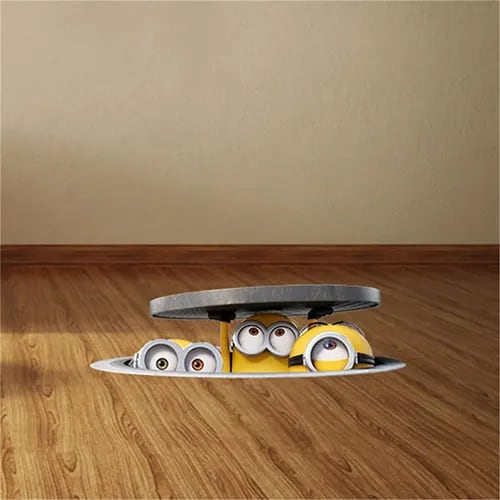 Hiding Minions Decal