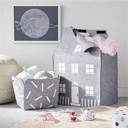 House Shaped Storage Bag
