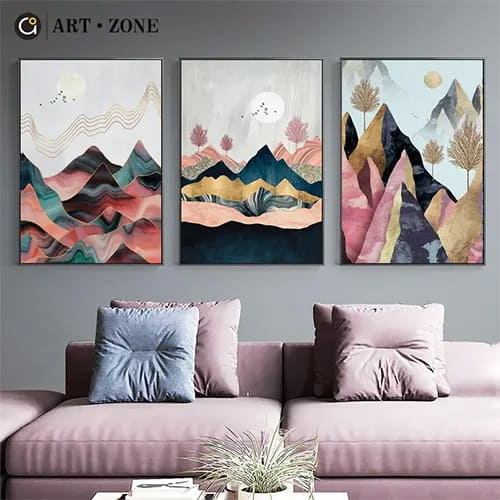 Nordic Style Abstract Wall Art
