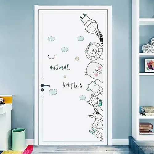 Peeping Aminals Wall Sticker Set