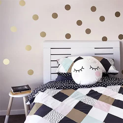 Polka Dots Decorative Wall Stickers