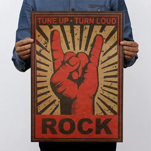 """Rock"" Wall Poster"