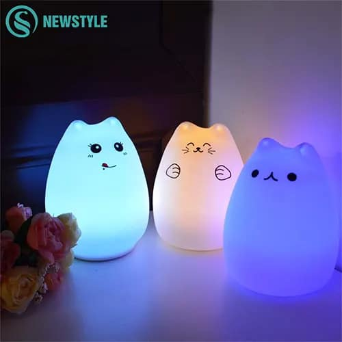 Touch Sensing Night Light For Kids